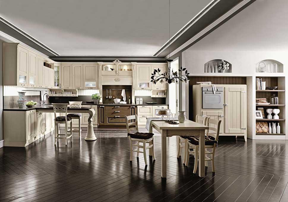 Cucina classica o cucina moderna come fare la scelta for Arredamento barocco moderno